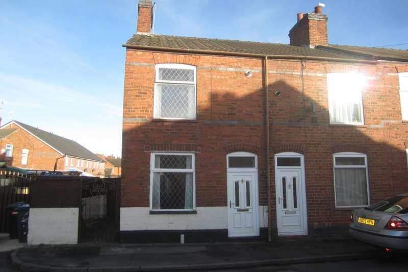2 Bedrooms Semi Detached House for sale in Surrey Street, Crewe, CW1