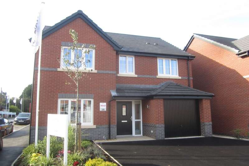 4 Bedrooms Detached House for sale in Orchard Fields Newcastle Road, Shavington, Crewe, CW2