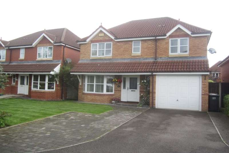 4 Bedrooms Detached House for sale in Langley Drive, Crewe, CW2