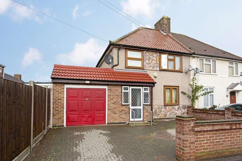 3 Bedrooms Semi Detached House for sale in Spinney Gardens, Dagenham, RM9