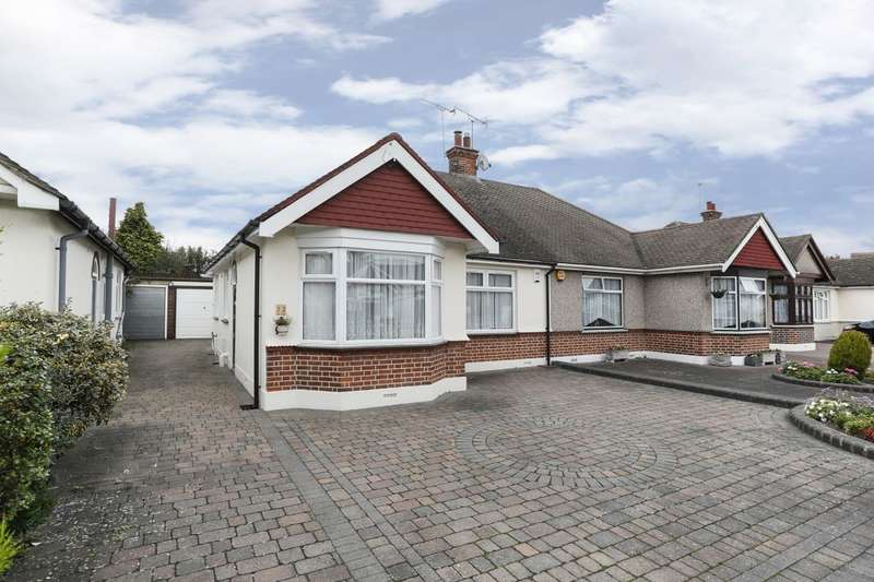 2 Bedrooms Semi Detached Bungalow for sale in Chadville Gardens, Chadwell Heath, Romford, RM6