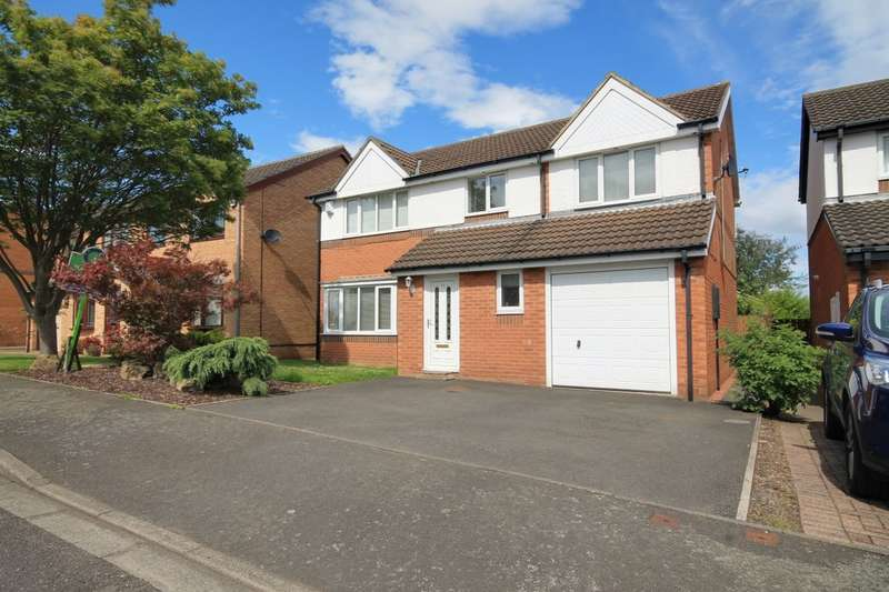 5 Bedrooms Detached House for sale in Bellerby Drive, Ouston, DH2