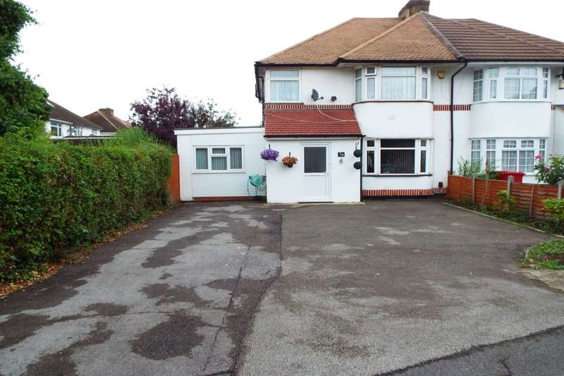 4 Bedrooms Semi Detached House for sale in Courtlands Avenue, Slough, SL3