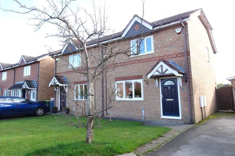 2 Bedrooms Semi Detached House for sale in St. Margarets Close, Ingol, Preston, PR2
