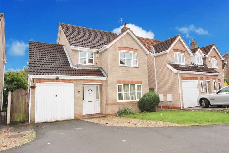 3 Bedrooms Detached House for sale in Knightsbridge Drive, Nuthall, Nottingham, NG16
