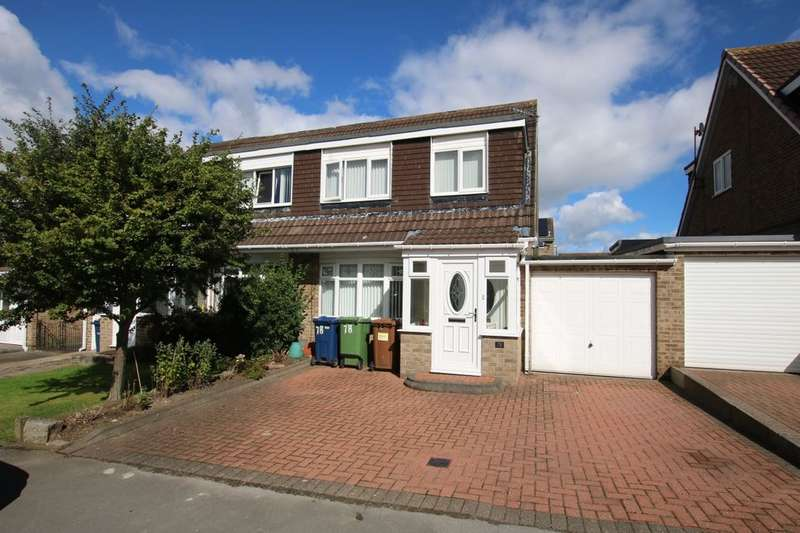 3 Bedrooms Semi Detached House for sale in Barrington Drive, Washington, NE38