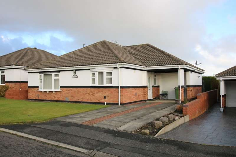 3 Bedrooms Detached Bungalow for sale in Whitethroat Close, Washington, NE38