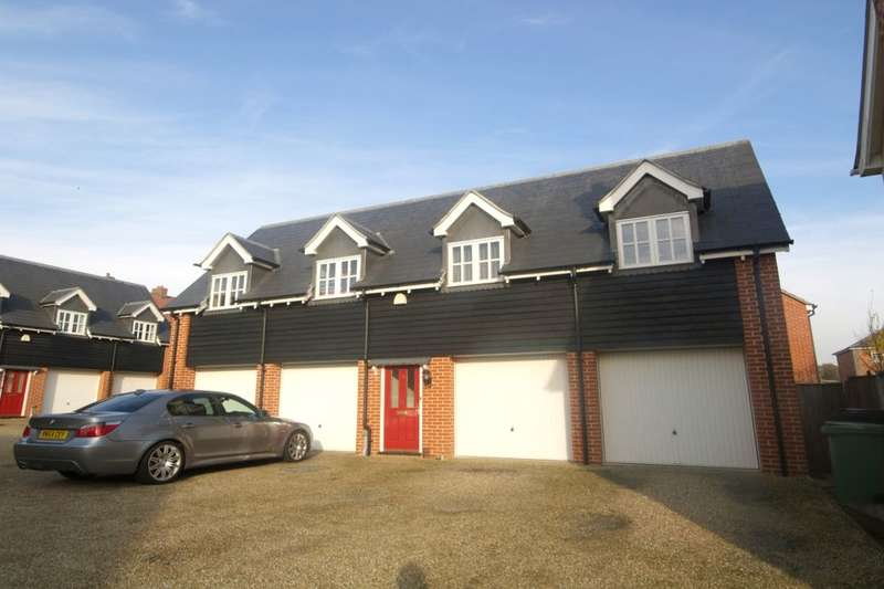 2 Bedrooms Flat for sale in Vanguard Chase, Costessey, Norwich, NR5