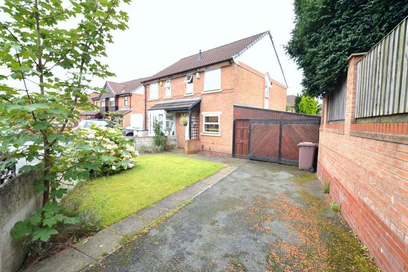 2 Bedrooms Semi Detached House for sale in Shevington Close, St. Helens, WA9