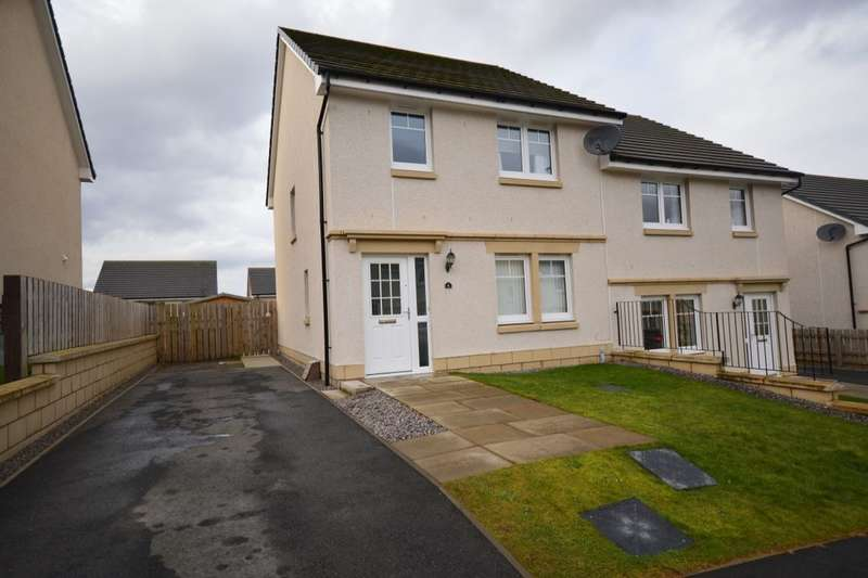 3 Bedrooms Semi Detached House for sale in Orchid Avenue, Culduthel, Inverness, IV2