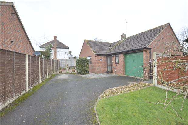 3 Bedrooms Detached Bungalow for sale in Twyning, TEWKESBURY, Gloucestershire, GL20 6JL