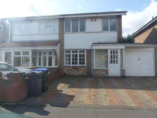 3 Bedrooms Semi Detached House for sale in Walcot Drive,Great Barr,Birmingham