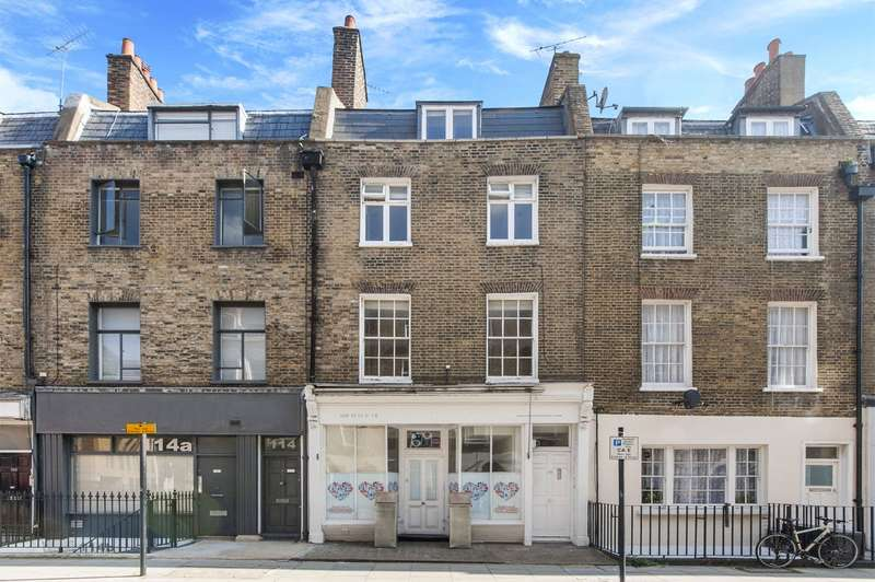 4 Bedrooms Terraced House for sale in Cleveland Street, London, W1T