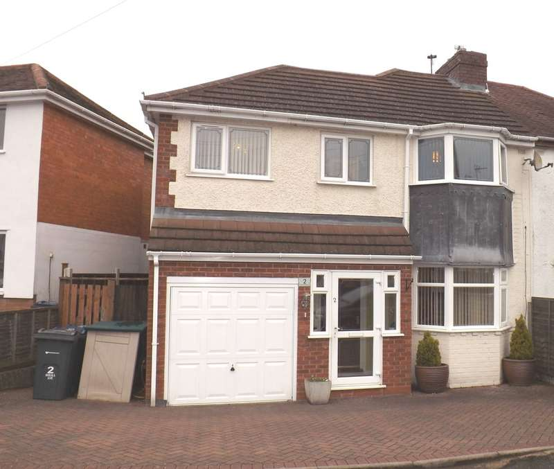 4 Bedrooms Semi Detached House for sale in Insull Avenue, Birmingham