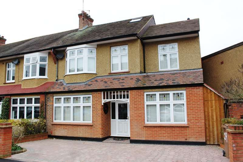 4 Bedrooms End Of Terrace House for sale in Oak Hill Crescent, Woodford Green