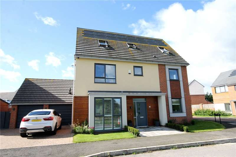 6 Bedrooms Detached House for sale in Whitworth Park Drive, Elba Park, Houghton le Spring, DH4