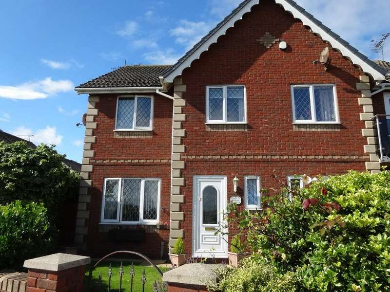 3 Bedrooms Semi Detached House for sale in Kinmel Bay, Conwy