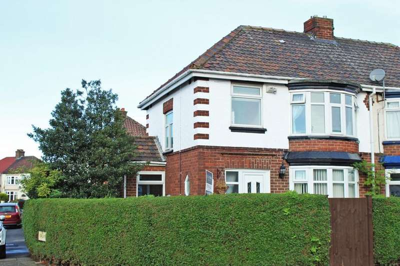 3 Bedrooms Semi Detached House for sale in Albany Road, Norton, TS20