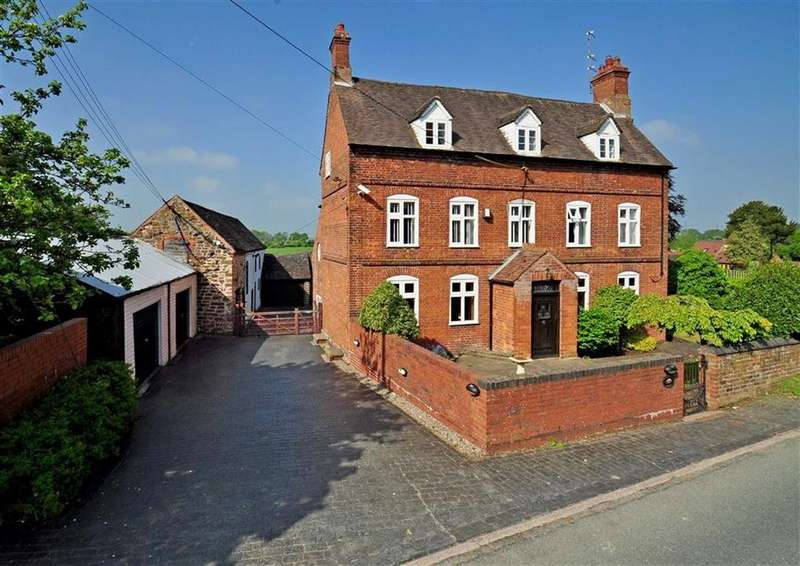 6 Bedrooms Detached House for sale in Whitecross House, Orton Lane, Lower Penn, Wolverhampton, South Staffordshire, WV4