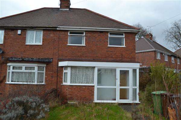 3 Bedrooms Semi Detached House for rent in Hawksford Crescent, Bushbury, Wolverhampton
