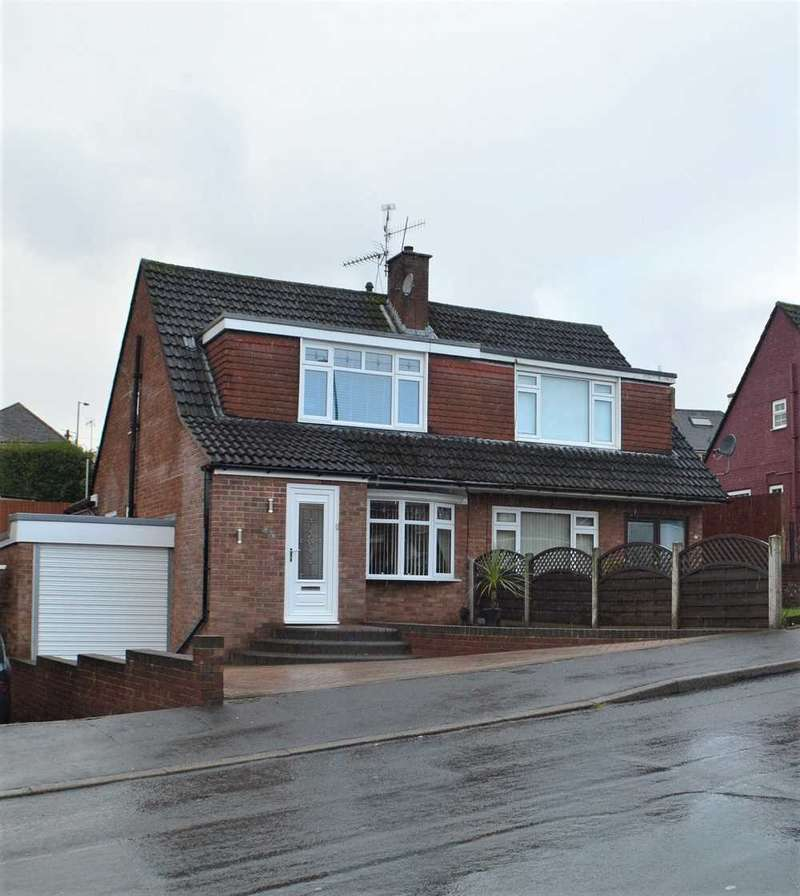 3 Bedrooms Semi Detached House for sale in Larch Grove, Malpas, Newport
