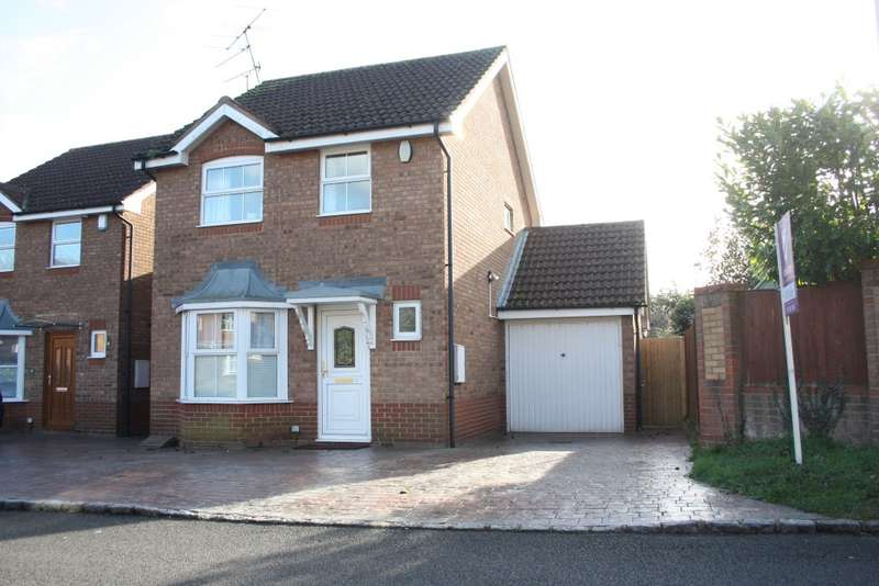 3 Bedrooms Link Detached House for sale in Constable Close, Woodley, Reading, RG5