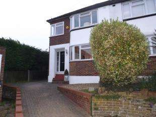 3 Bedrooms Semi Detached House for sale in Swain Close, Rochester, Kent