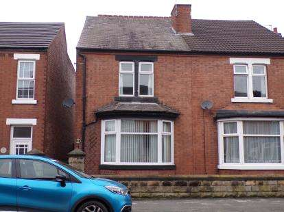 3 Bedrooms Semi Detached House for sale in Calais Road, Burton-On-Trent, Staffordshire