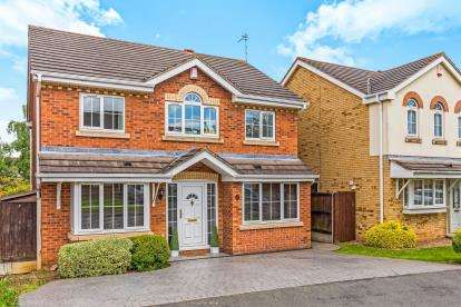 4 Bedrooms Detached House for sale in Smore Slade Hills, Oadby, Leicester, Leicestershire