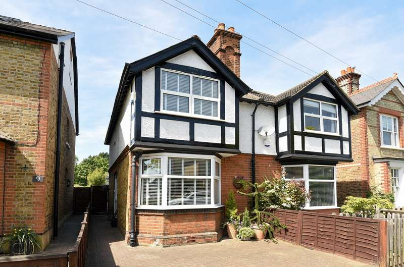 3 Bedrooms Semi Detached House for sale in Hersham