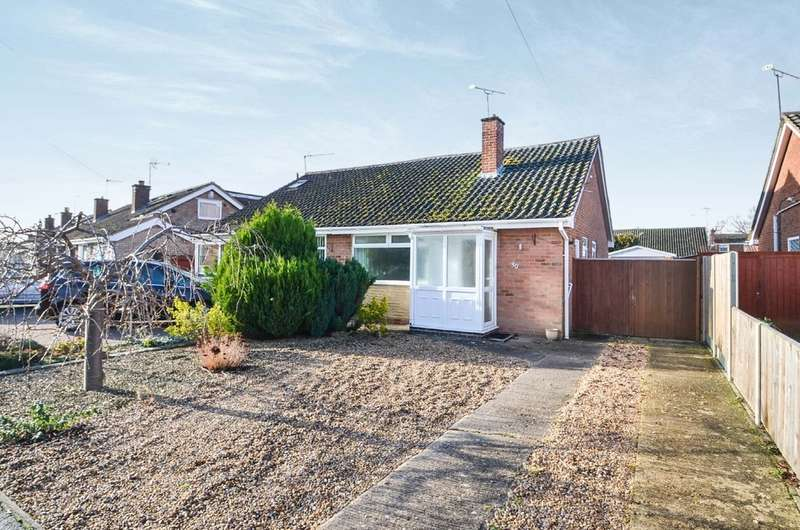3 Bedrooms Semi Detached House for sale in Juliet Drive, Rugby