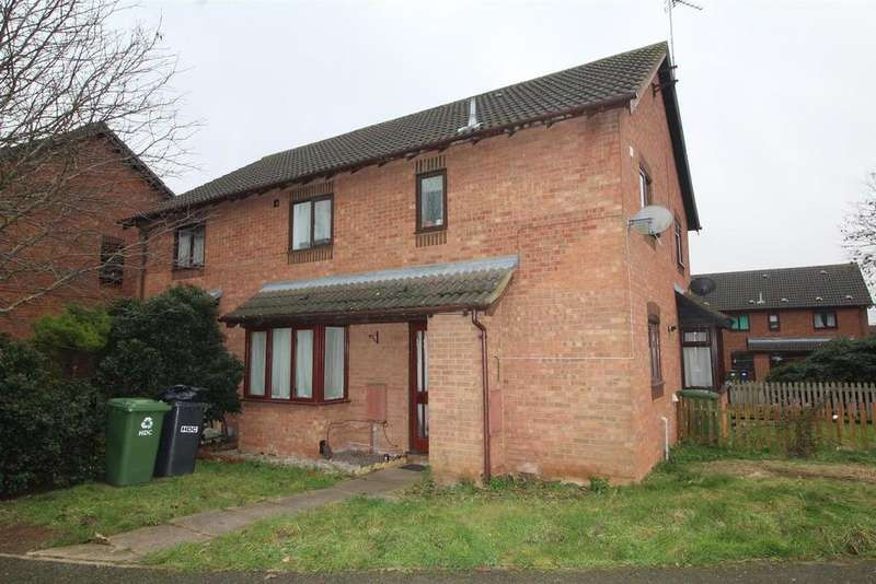 2 Bedrooms Semi Detached House for sale in Cookson Close, Yaxley, Peterborough
