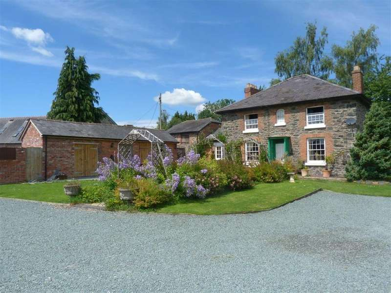 3 Bedrooms Detached House for sale in Llanfechain, SY22