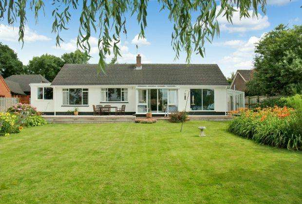 3 Bedrooms Detached Bungalow for sale in Couches Lane, WOODBURY