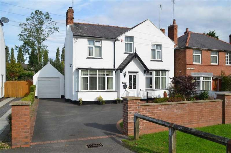 3 Bedrooms Detached House for sale in Ring Road, Backford, CH1