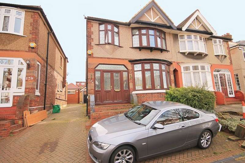 4 Bedrooms Semi Detached House for sale in Herent Drive, Ilford, IG5