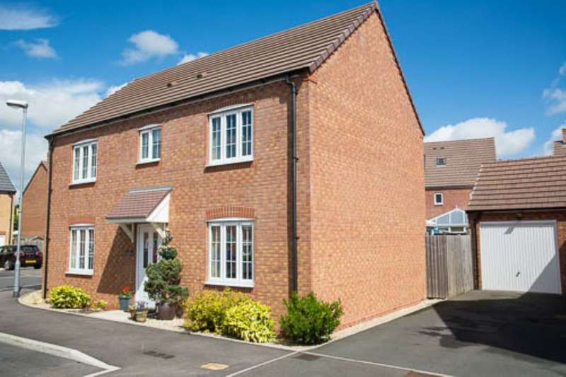 4 Bedrooms Detached House for sale in Wisteria Drive, Evesham, WR11
