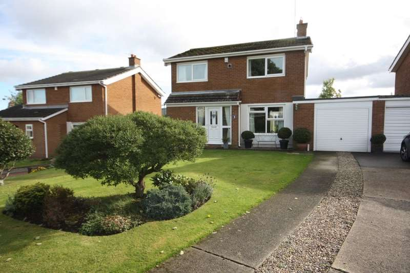 4 Bedrooms Detached House for sale in Lyndale, Guisborough, TS14