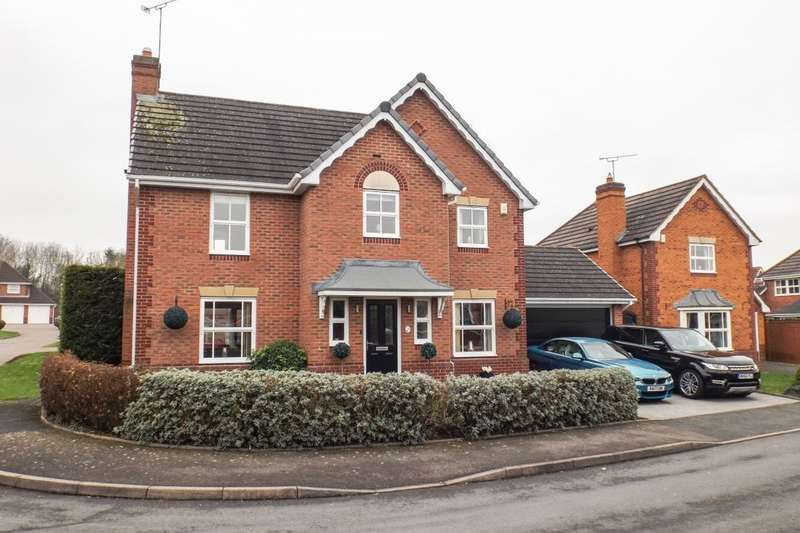 4 Bedrooms Detached House for sale in Dockeray Avenue, Worcester, WR4