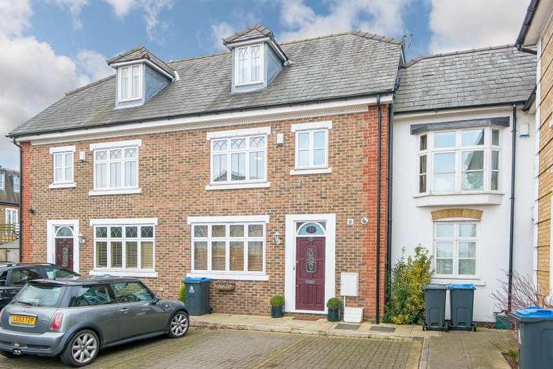 4 Bedrooms Terraced House for sale in Dagmar Road, Kingston upon Thames KT2