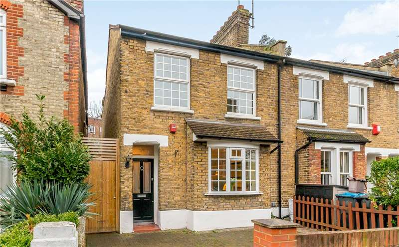 3 Bedrooms End Of Terrace House for sale in Kings Road, Kingston upon Thames KT2