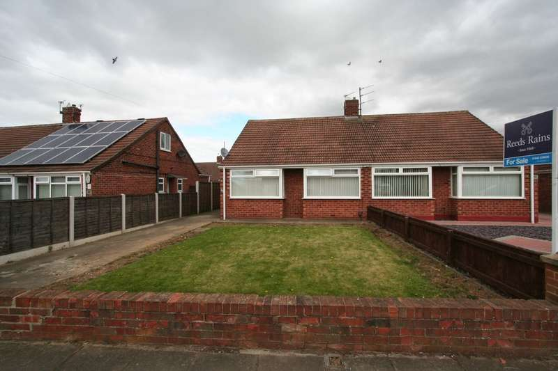 2 Bedrooms Semi Detached Bungalow for sale in Virginia Gardens, Brookfield, Middlesbrough, TS5