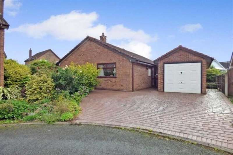 3 Bedrooms Detached Bungalow for sale in Penlington Court, Nantwich, CW5