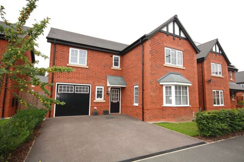 4 Bedrooms Detached House for sale in Oaks Close, Aston, Nantwich, CW5