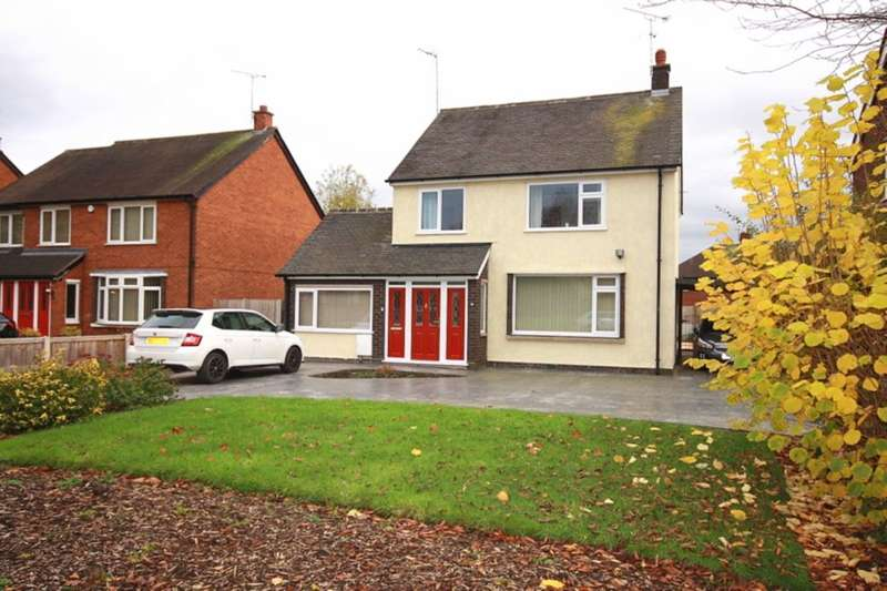 3 Bedrooms Detached House for sale in Middlewich Road, Nantwich, CW5