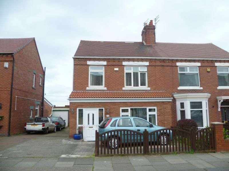 3 Bedrooms Semi Detached House for sale in Ashley Road, South Shields, NE34