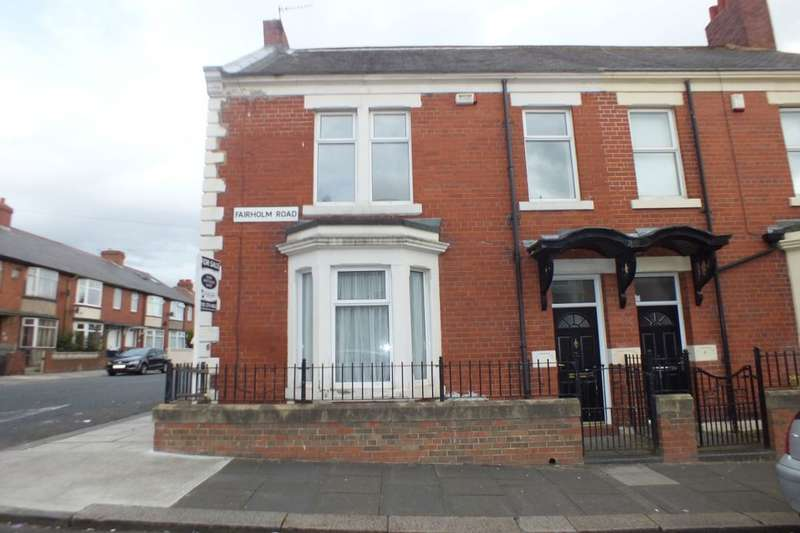 3 Bedrooms Semi Detached House for sale in Fairholm Road, Newcastle Upon Tyne, NE4