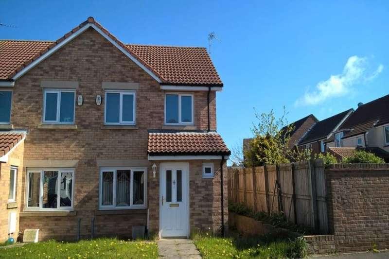 3 Bedrooms Semi Detached House for sale in Chestnut Way, Widdrington, Morpeth, NE61