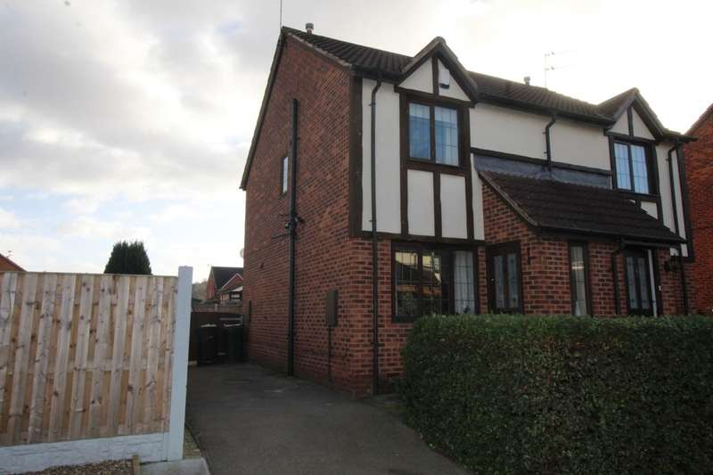2 Bedrooms Semi Detached House for sale in Heaton Gardens, Edlington, Doncaster, DN12