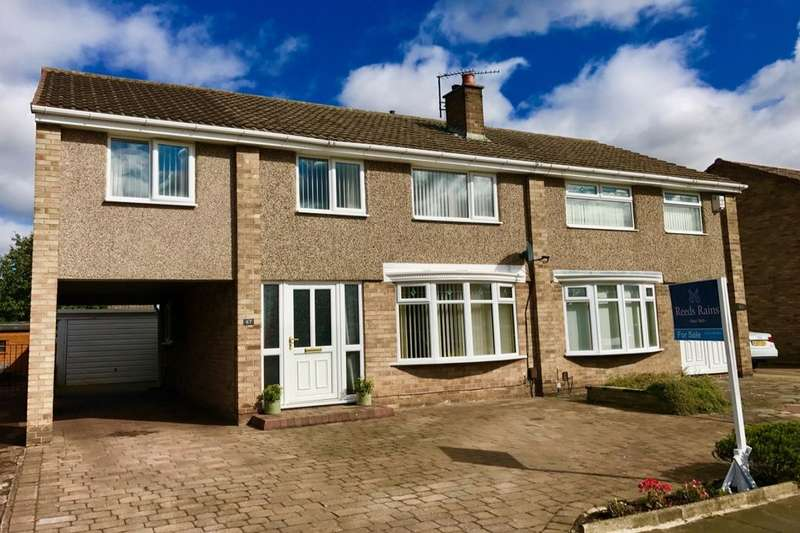 4 Bedrooms Semi Detached House for sale in Dunedin Avenue, Hartburn, Stockton-On-Tees, TS18